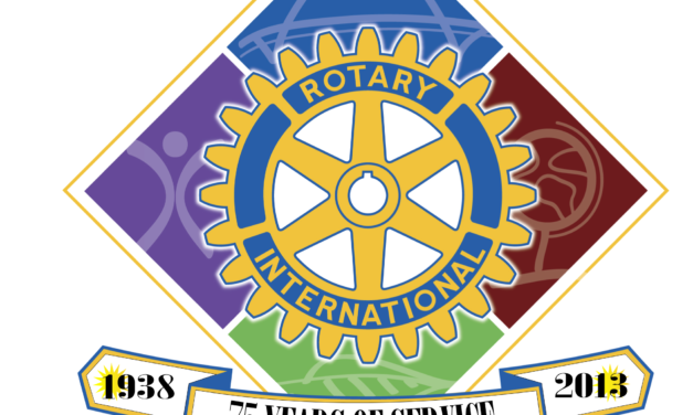 The Rotary Club of Weaverville donates to Clinic Expansion